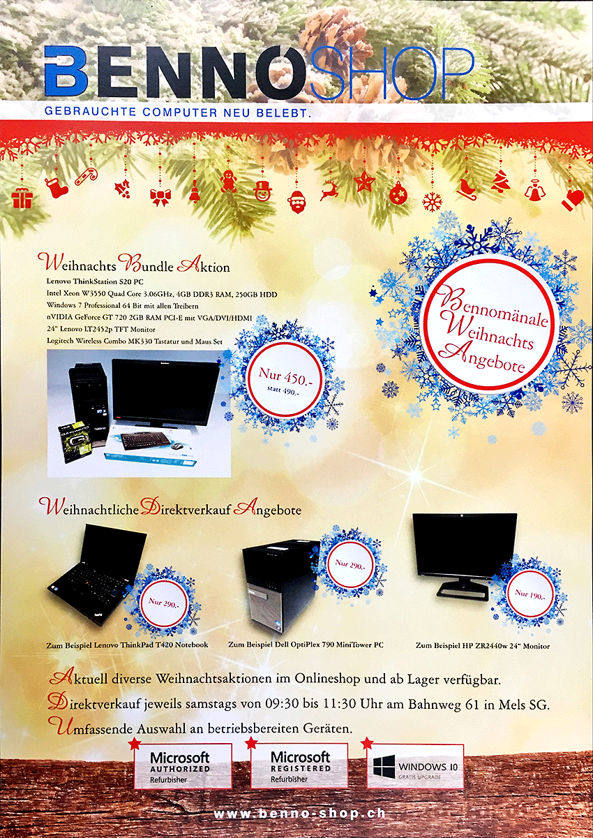 bennom nale weihnachts angebote benno shop blog. Black Bedroom Furniture Sets. Home Design Ideas